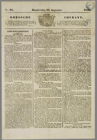 Goessche Courant 1849-08-23