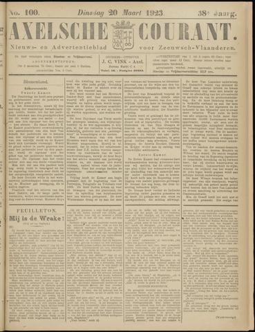Axelsche Courant 1923-03-20