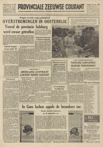 Provinciale Zeeuwse Courant 1959-08-14