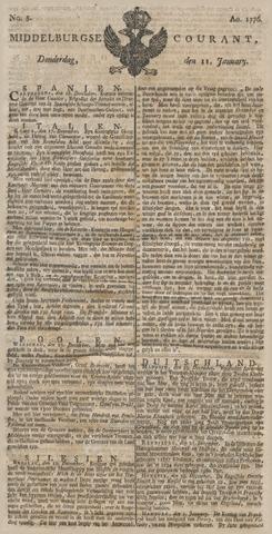 Middelburgsche Courant 1776-01-11