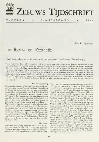 Zeeuws Tijdschrift 1964-05-01