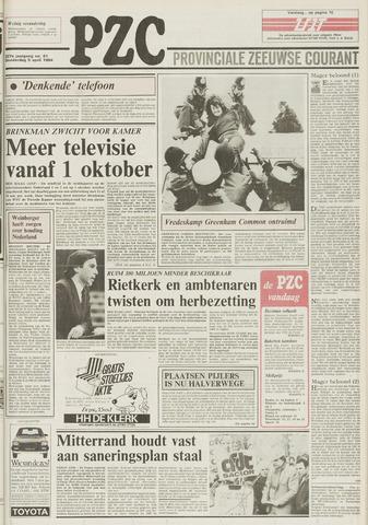 Provinciale Zeeuwse Courant 1984-04-05