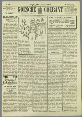 Goessche Courant 1932-01-22