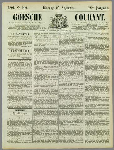 Goessche Courant 1891-08-25