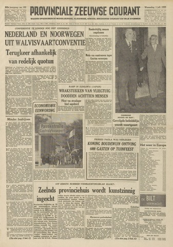 Provinciale Zeeuwse Courant 1959-07-01