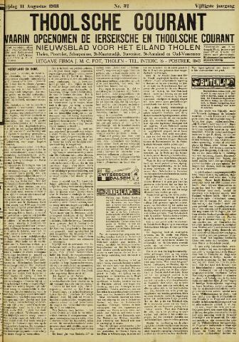 Ierseksche en Thoolsche Courant 1933-08-11