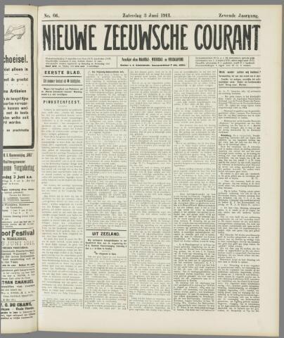 Nieuwe Zeeuwsche Courant 1911-06-03