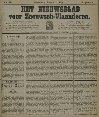 Nieuwsblad voor Zeeuwsch-Vlaanderen 1899-02-04