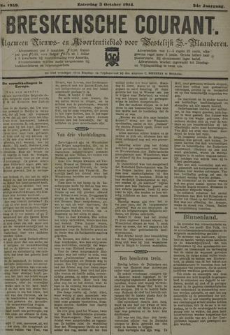 Breskensche Courant 1914-10-03