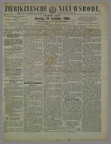 Zierikzeesche Nieuwsbode 1903-09-19