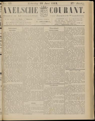 Axelsche Courant 1911-06-10
