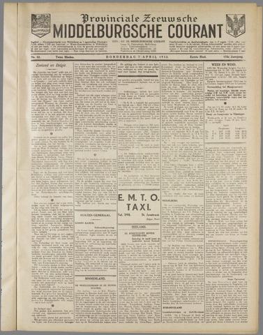 Middelburgsche Courant 1932-04-07