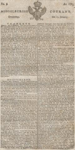 Middelburgsche Courant 1763-01-20