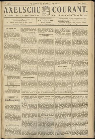 Axelsche Courant 1937-02-19