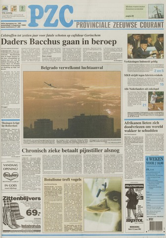 Provinciale Zeeuwse Courant 1999-08-04