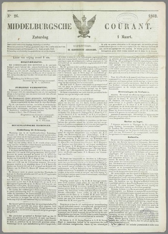 Middelburgsche Courant 1862-03-01