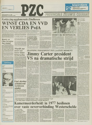 Provinciale Zeeuwse Courant 1976-11-04