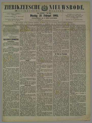 Zierikzeesche Nieuwsbode 1905-02-21