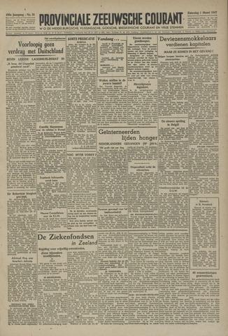 Provinciale Zeeuwse Courant 1947-03-01