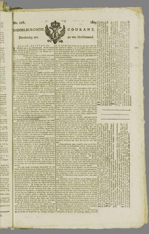 Middelburgsche Courant 1809-09-21