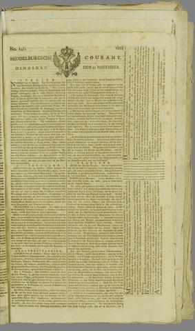 Middelburgsche Courant 1806-11-11