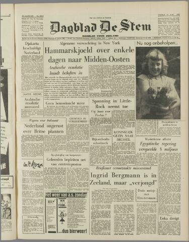 de Stem 1958-08-22