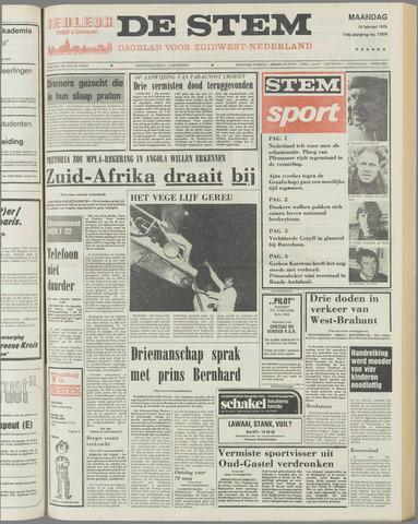 de Stem 1976-02-16