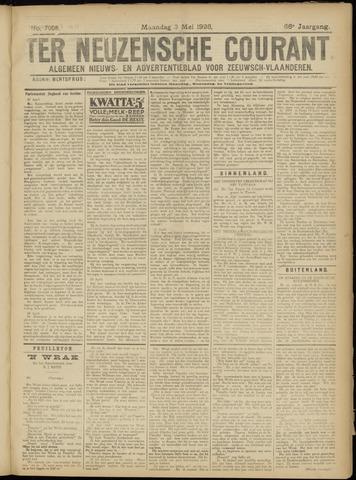 Ter Neuzensche Courant. Algemeen Nieuws- en Advertentieblad voor Zeeuwsch-Vlaanderen / Neuzensche Courant ... (idem) / (Algemeen) nieuws en advertentieblad voor Zeeuwsch-Vlaanderen 1926-05-03
