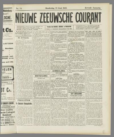 Nieuwe Zeeuwsche Courant 1911-06-22