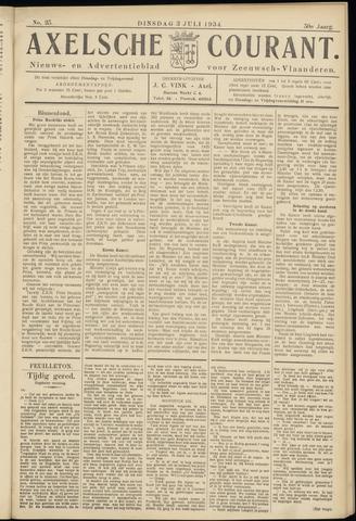 Axelsche Courant 1934-07-03