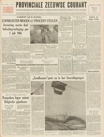 Provinciale Zeeuwse Courant 1964-12-02
