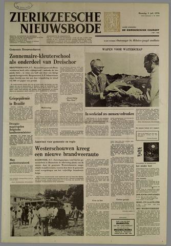Zierikzeesche Nieuwsbode 1976-07-05