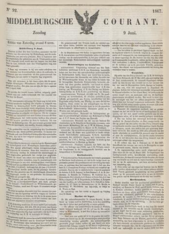 Middelburgsche Courant 1867-06-09