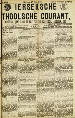 Ierseksche en Thoolsche Courant 1908-06-27