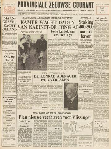 Provinciale Zeeuwse Courant 1967-04-20