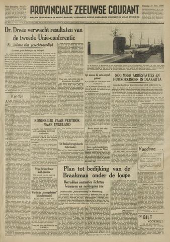 Provinciale Zeeuwse Courant 1950-11-21