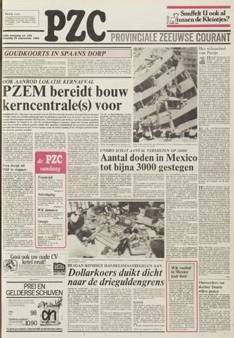 Provinciale Zeeuwse Courant 1985-09-24