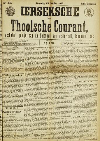 Ierseksche en Thoolsche Courant 1893-10-28