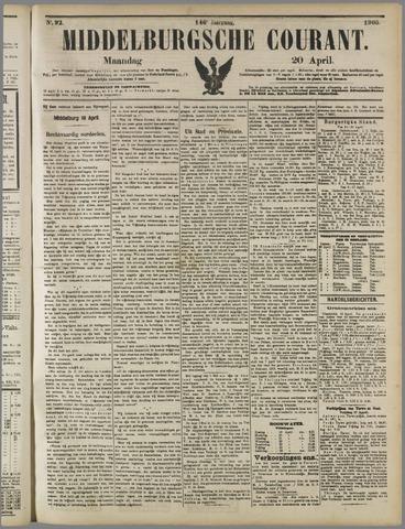 Middelburgsche Courant 1903-04-20