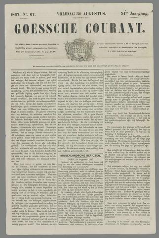 Goessche Courant 1867-08-30