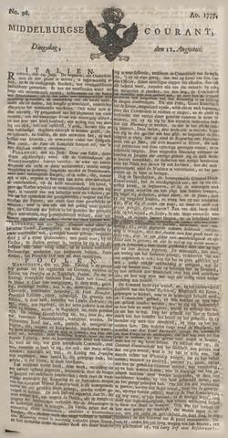 Middelburgsche Courant 1777-08-12
