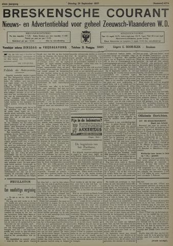 Breskensche Courant 1937-09-28