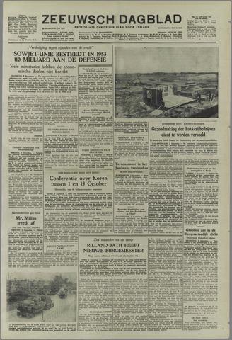 Zeeuwsch Dagblad 1953-08-06
