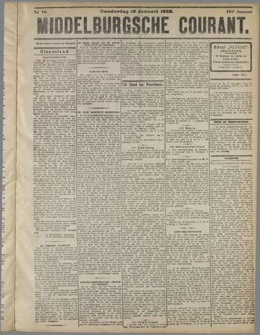 Middelburgsche Courant 1922-01-12