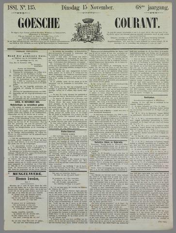 Goessche Courant 1881-11-15