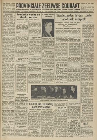 Provinciale Zeeuwse Courant 1947-12-02