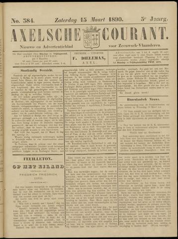 Axelsche Courant 1890-03-15