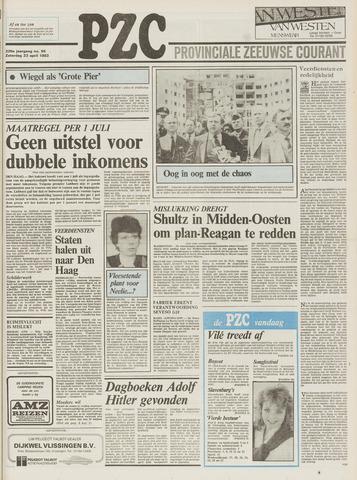 Provinciale Zeeuwse Courant 1983-04-23