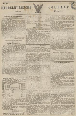 Middelburgsche Courant 1851-08-23