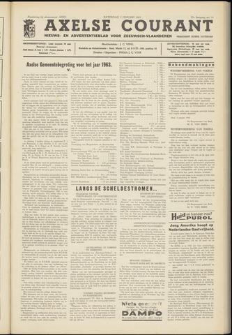 Axelsche Courant 1963-01-05
